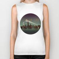Gotham City Biker Tank