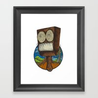 Hot Summer Framed Art Print
