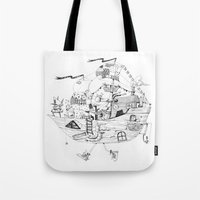 Captain Bates Tote Bag
