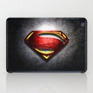 Man Of Steel iPad Case
