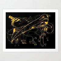 Grito Art Print
