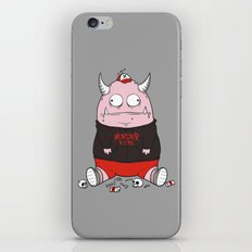 Pink Monster Kills iPhone & iPod Skin