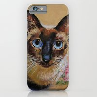 iPhone & iPod Case featuring Siamese Cat by Michael Creese