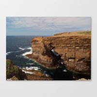 At Yesnaby Canvas Print