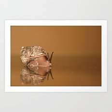 Gary The Snail Art Print