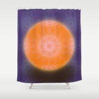Digifloral Shower Curtain