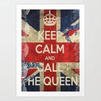Queeny Art Print