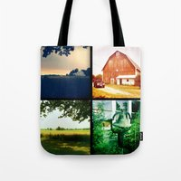 Summer On My Parents' Fa… Tote Bag