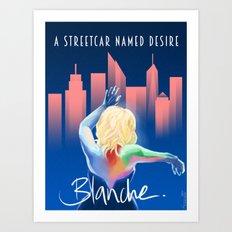 Blanche - NYC Art Print