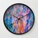 Coral Reef Wall Clock