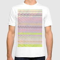 Paint Me Pretty Mens Fitted Tee White SMALL