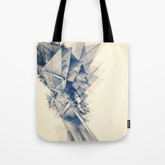 Polygon Tower Tote Bag
