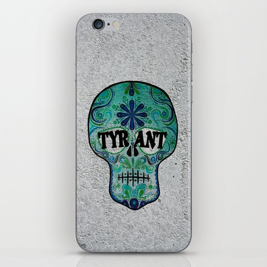 "TYRANT ""Sugar Skull"" iPhone & iPod Skin"