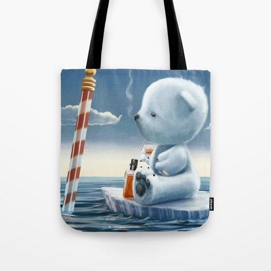 Derek The Depressed Bear Tote Bag