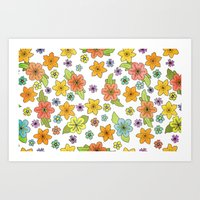 Flowers No. 2 Art Print