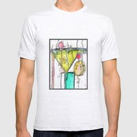Dirty Martini Mens Fitted Tee Ash Grey SMALL