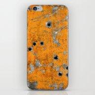Bullet Riddled Metal iPhone & iPod Skin