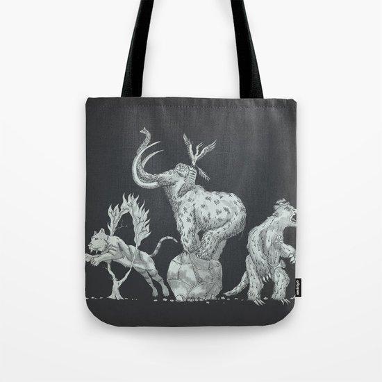 Prehistoric Circus Tote Bag
