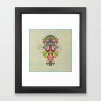 Harmony Birds Framed Art Print