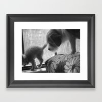 Eb&daisy Framed Art Print