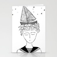 Dreamer On Board Stationery Cards