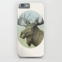 Moose head elk iPhone 6 Slim Case
