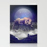 Under The Stars III (Leo… Stationery Cards