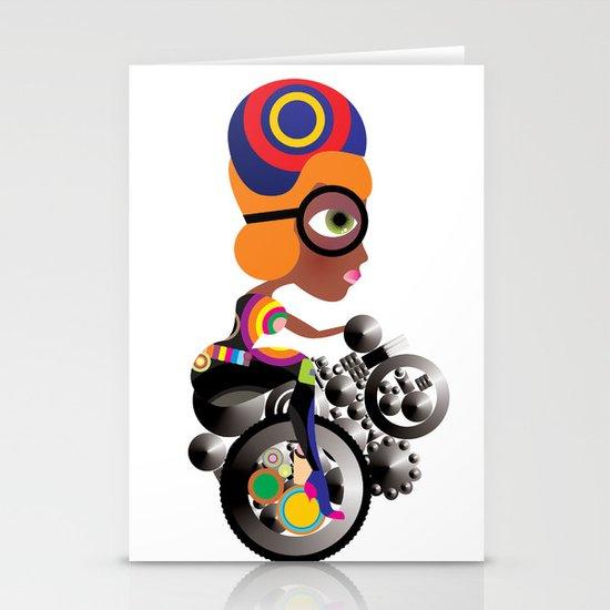 Bike Stationery Card