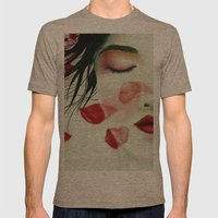 Head Wounds Mens Fitted Tee Tri-Coffee SMALL