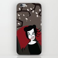 Under The Red Moon iPhone & iPod Skin