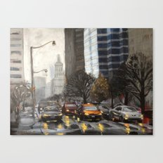 University Ave., Toronto Canvas Print