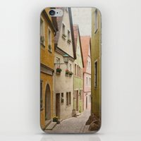Italian Alley - Bright Colors iPhone & iPod Skin