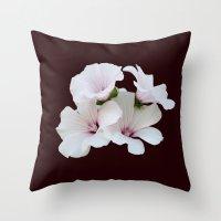 Beautiful summerflowers Throw Pillow