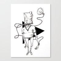 Bag Canvas Print