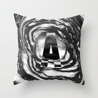 Marble A Throw Pillow