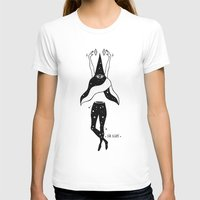 Spells Womens Fitted Tee White SMALL