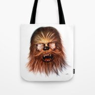 STAR WARS CHEWBACCA Tote Bag