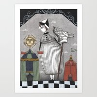 A Circus Story Art Print