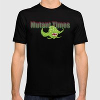 Mutant Times Mens Fitted Tee Black SMALL