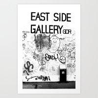 East Side Gallery - Berl… Art Print