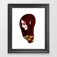 OVERLY ATTACHED GIRLFRIE… Framed Art Print