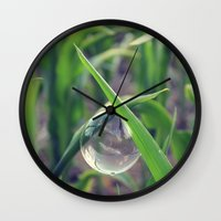 Ever So Delicate Wall Clock
