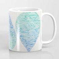 Ombré Droplet Mug