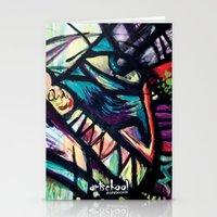 Artist Series Skate Grap… Stationery Cards