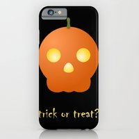 iPhone & iPod Case featuring trick or treat by not so popular