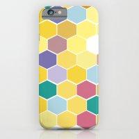 Honey Comb turns Zesty iPhone 6 Slim Case