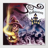 Halloween 2014 Canvas Print