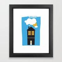 Happy Home Framed Art Print