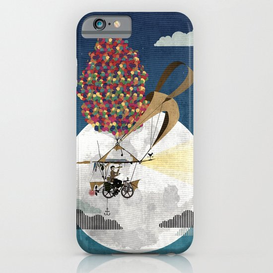 Flying Bicycle iPhone & iPod Case