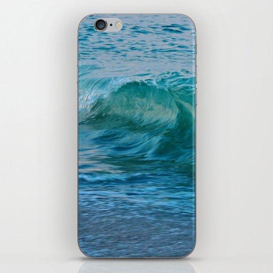 Crashing Wave at Dusk iPhone & iPod Skin